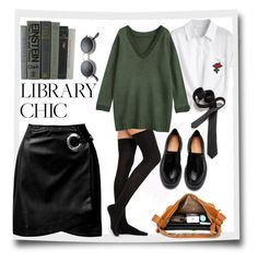 """""""Library chic"""" by buddahbar ❤ liked on Polyvore featuring Sans Souci"""