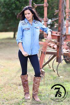 The Napa – Savannah Sevens Western Chic