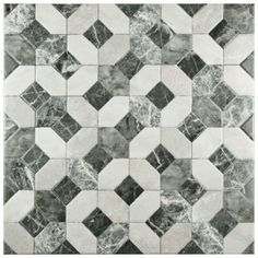 Merola Tile Caprice Marmol Gris 17-3/4 in. x 17-3/4 in. Ceramic Floor and Wall Tile (15.75 sq. ft. / case)-FAP18CMG - The Home Depot