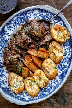 This pressure cooker balsamic beef brisket is meltingly tender and absolutely packed with flavour! Serve with smashed potatoes and carrots which are cooked together with the brisket – a low effort recipe that the whole family will love. Beef Recipes, Cooking Recipes, Beans On Toast, Clean Eating, Balsamic Beef, Cooking Together, Brisket, Pressure Cooking, Pot Roast