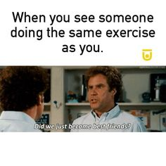 Tag your workout buddy for some funny workout motivation 💪