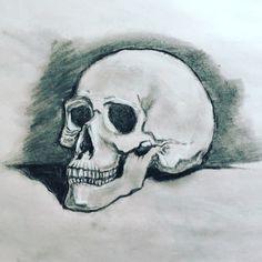 Life Drawing, Skull, Tattoos, Drawings, Art, Art Background, Tatuajes, Tattoo, Kunst