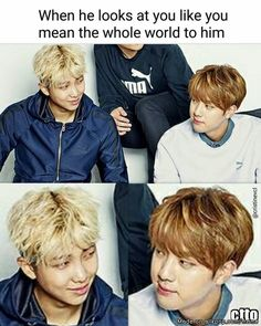 cuz imma namjin trash and this is cute sorrynotsorry