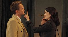 Robin and Barney Swarkles Cobie Smulders and Neil Patrick Harris How I Met Your Mother Barney Y Robin, Ted And Robin, Robin Scherbatsky, How I Met Your Mother, Marshall Eriksen, Netflix, Ted Mosby, Mother Photos, Tv Couples