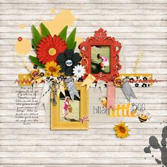 Queen Bee and Queen Bee Snippets by Digilicious Designs