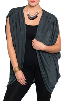 DHStyles Women's [HOT SELLER] Teal Plus Size Trendy Lightweight Open Front Sleeveless Cardigan #sexytops #clubclothes #sexydresses #fashionablesexydress #sexyshirts #sexyclothes #cocktaildresses #clubwear #cheapsexydresses #clubdresses #cheaptops #partytops #partydress #haltertops #cocktaildresses #partydresses #minidress #nightclubclothes #hotfashion #juniorsclothing #cocktaildress #glamclothing #sexytop #womensclothes #clubbingclothes #juniorsclothes #juniorclothes #trendyclothing…