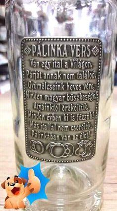 Pálinka vers
