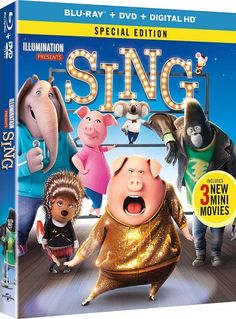 SING Special Edition Blu-Ray Combo Pack Giveaway - Raising Whasians