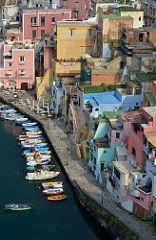 Marina Corricella (robra shotography []O]) Tags: italy italia colours village view harbour porto procida campaniaregion marinacorricella d7000