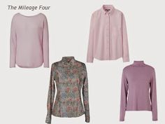 A Four by Four Capsule Wardrobe in Denim, Grey, Pink and Rose | The Vivienne Files