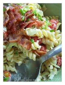 The Best Mom on the Block: BLT Pasta Salad and a Giveaway!