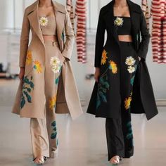 Basic Outfits, Fall Outfits, Suit Fashion, Fashion Women, Fashion Dresses, Printed Tank Tops, Office Outfits, Crop Tank, Outfit Sets