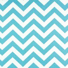 Zig Zag Girly Blue/Twill by Premier Prints - Drapery Fabric - Fabric By The Yard 7.75/yd