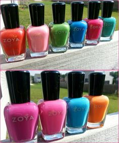 Zoya Polish - made specifically for natural nails - last up to 12 days