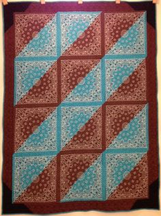Western Reversible Bandana Quilt by PerrysPatchwork on Etsy, $360.00