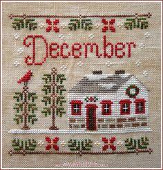 Ma petite déco de Noël - Le Blog de Cécile Cecile, Christmas Sweaters, Creations, Passion, Holiday Decor, Blog, Patterns, Radiation Exposure, Embroidery