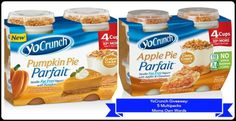YoCrunch Multipacks #Giveaway (5 Each!) Apple Pie and Pumpkin Pie - Oh My!! 10/29 - Moms Own Words