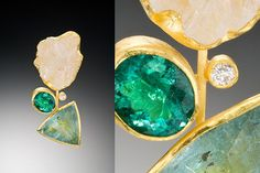 The oval stone is GORGEOUS!     Petra Class Jewelry | Greens