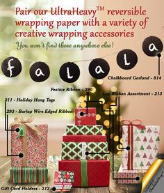 Because our UltraHeavy™ reversible wrapping paper is so popular this time of year, we've surrounded it with a variety of creative wrapping accessories that you won't find anywhere else! Charleston Wrap has trendy burlap ribbon, fun gift tags, unique bows, ribbons, gift card holders and hundreds of beautiful designs from elegant to whimsical, all online!