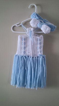 Crochet crafts Fringe Dress, Crochet Crafts, Crochet Baby, Dream Catcher, Etsy Seller, Creative, Unique, How To Wear, Dreamcatchers