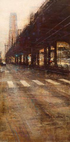 Quincoces,Alejandro, Un puente de Chicago 60×120