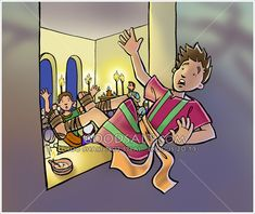 Young Eutychus falls asleep and slips from a window during a late night meeting with Paul the apostle. Paul The Apostle, Buy Prints, Falling Down, Late Nights, How To Fall Asleep, Banner, Bible, Window, Artist
