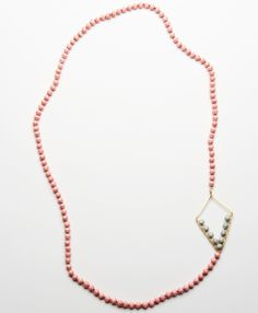 Soaring High Necklace - Noonday Collection - It's paper beads!