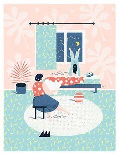 Illustrations by Martyna Wójcik-Śmierska | Inspiration Grid | Design Inspiration
