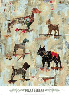 Dog Show Part II Poster van Dolan Geiman bij AllPosters.nl