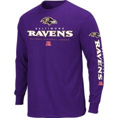 Baltimore Ravens Game Reflex T-Shirt - Purple