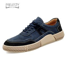 Prelesty Modern Men Dress Shoes Formal Brogues Handmade Comfortable P – ChicKicks Blue Shoes, Men's Shoes, Shoe Boots, Dress Shoes, Shoes Style, Shoes Men, Suede Leather, Leather Shoes, Sneakers Fashion
