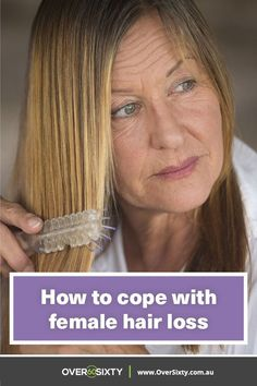 Excessive hair loss can affect women of all ages for different reasons. Here's how to cope with it. #EarlyHairLossTreatment #NaturalHairLossPrevention Baby Hair Loss, Hair Loss Cure, Stop Hair Loss, Hair Loss Remedies, Biotin For Hair Loss, Oil For Hair Loss, Biotin Hair, Excessive Hair Loss, Hair Falling Out