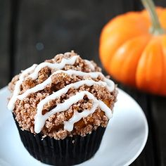 Pumpkin Streusel Muffins ~ the perfect autumn comfort food.