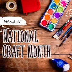 How great is it that there's a month to celebrate being crafty?!?  What is your favorite crafts to do? https://multibra.in/bsgwt