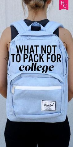What to pack for college!