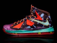 The Nike LeBron X MVP Sneakers Celebrate the Success of LeBron James trendhunter.com