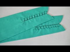 Latest Sleeves Design With Making Button Cutting And Stitching - YouTube