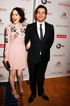 Michelle Dockery and Rob James-Collier Best Tv Shows, Favorite Tv Shows, Rob James Collier, Watch Downton Abbey, Dowager Countess, Michelle Dockery, Lady Mary, Period Dramas, Music Tv