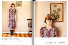 Nostalgic Dresses from Closet Japanese Craft Book by pomadour24