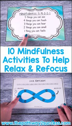 Mindfulness Activities You Can Try Today Use these 10 mindfulness activities to help kids and young adults relax, refocus, and get back on track.Use these 10 mindfulness activities to help kids and young adults relax, refocus, and get back on track. Mindfulness For Kids, Mindfulness Activities, Mindfulness Therapy, Mindfulness Meditation, Mindfulness Practice, Mindfullness Activities For Kids, Relaxation Activities, Mindfulness Quotes, Meditation Music