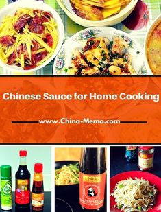 Home cooking Chinese - Chinese Sauces for Home Cooking Easy Healthy Recipes, Fall Recipes, Authentic Chinese Recipes, Chinese Food, Tofu, Asian, Salsa, Spices, Kitchens