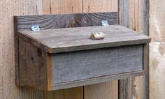 Rustic Weathered Wood Mailbox by GailsRusticNotions on Etsy