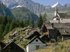 Piccoli paesi in Valle Antrona