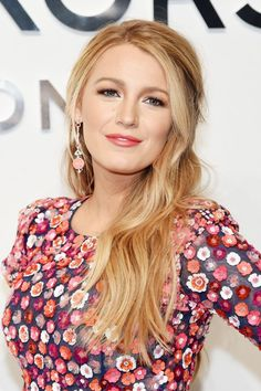 "Blake Lively's make-up artist on finding your perfect lip colour: ""Pop, recede or balance."" #lightpinklips"