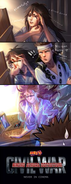 NARUTO : Eyelinered Bros War by ForeverMedhok on DeviantArt