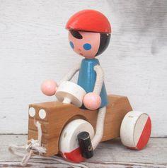 Cute Vintage Pull toy
