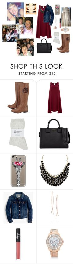"""""""HAPPY BIRTHDAY BLAKE! ILYSM!!!"""" by abby-walker02 ❤ liked on Polyvore featuring Finery London, Johnstons, Karl Lagerfeld, Casetify, J.Crew, Diane Kordas, NARS Cosmetics, River Island and Chaumet"""