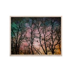 "Sylvia Cook ""The Birds"" KESS Naturals #Canvas (Frame not Included) 