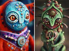 Amazing hand made alien dolls by Maryana Kopylova (22)