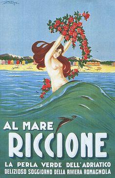 Riccione - Manifesto  #TuscanyAgriturismoGiratola